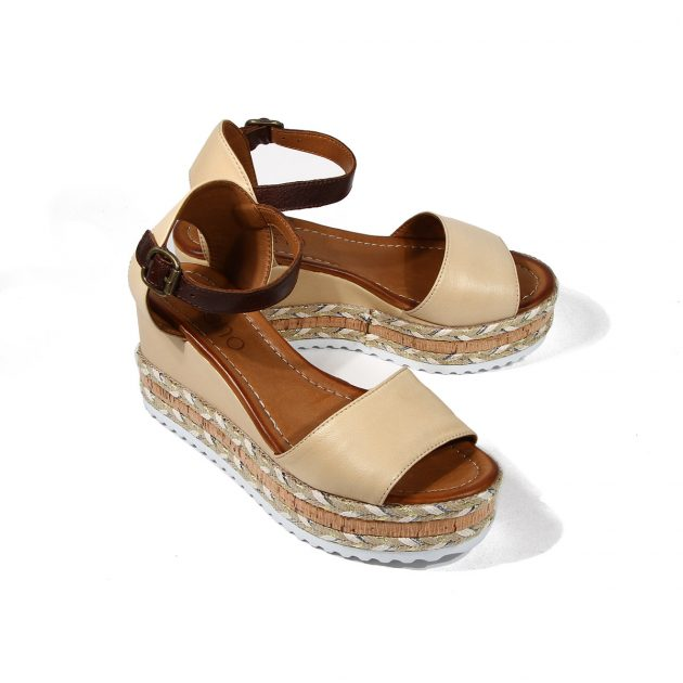 Sandale dama piele casual Marbella LaScarpa