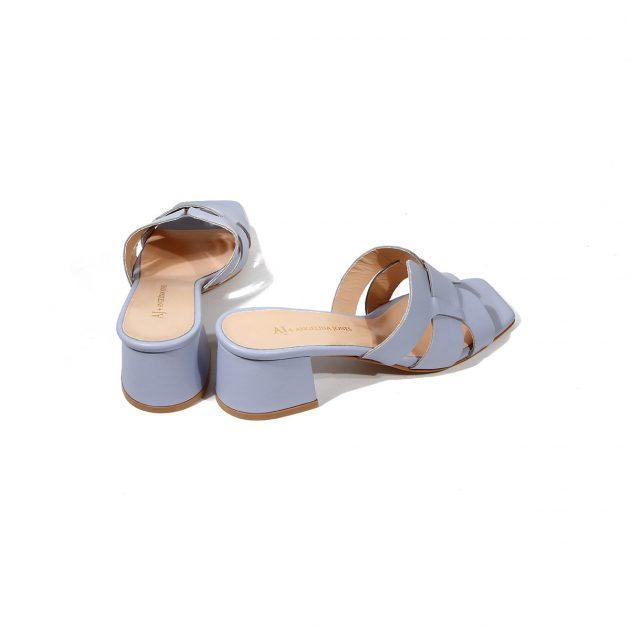 Papuci dama piele eleganti Jamelya LaScarpa
